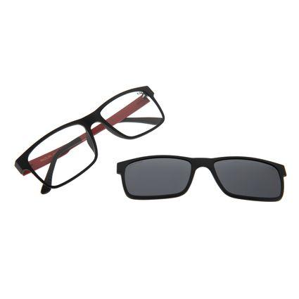 Armação Para Óculos De Grau Masculino Multi Fumê LV.MU.0137-0501