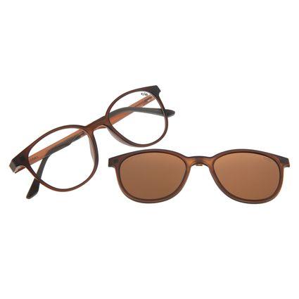 Armação Para Óculos De Grau Feminino Multi Marrom LV.MU.0191-0202