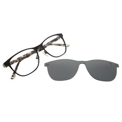 Armação Para Óculos De Grau Feminino Multi Preto LV.MU.0269-0101