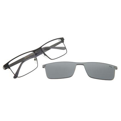 Armação Para Óculos De Grau Masculin Multi Preto LV.MU.0286-0001