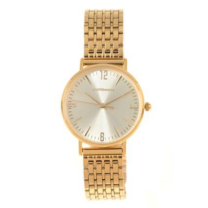 Relógio Analógico Feminino Chilli Beans Metal Dourado RE.MT.0914-2121