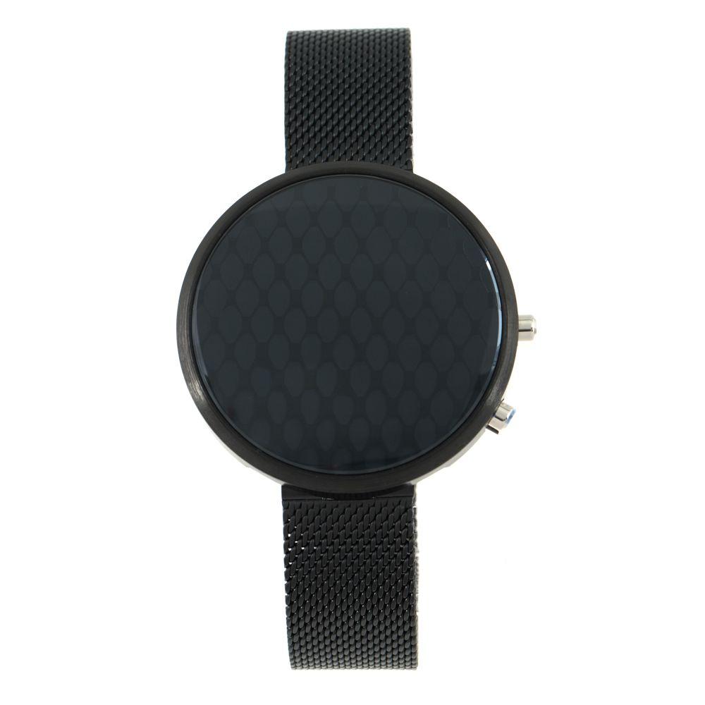 Relógio Digital Feminino Chilli Beans Metal Preto RE.MT.0915-2201