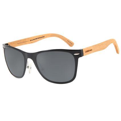 Óculos de Sol Masculino Chilli Beans Executivo Polarizado Preto OC.AL.0243-0401