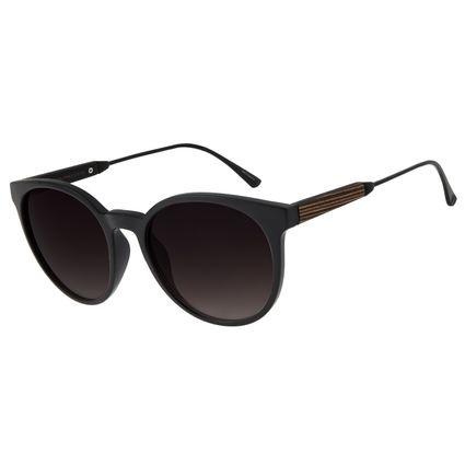 Óculos de Sol Feminino Chilli Beans Redondo Preto OC.CL.2826-2001