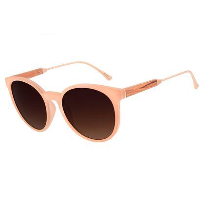 Óculos de Sol Feminino Chilli Beans Redondo Fosco OC.CL.2826-5731