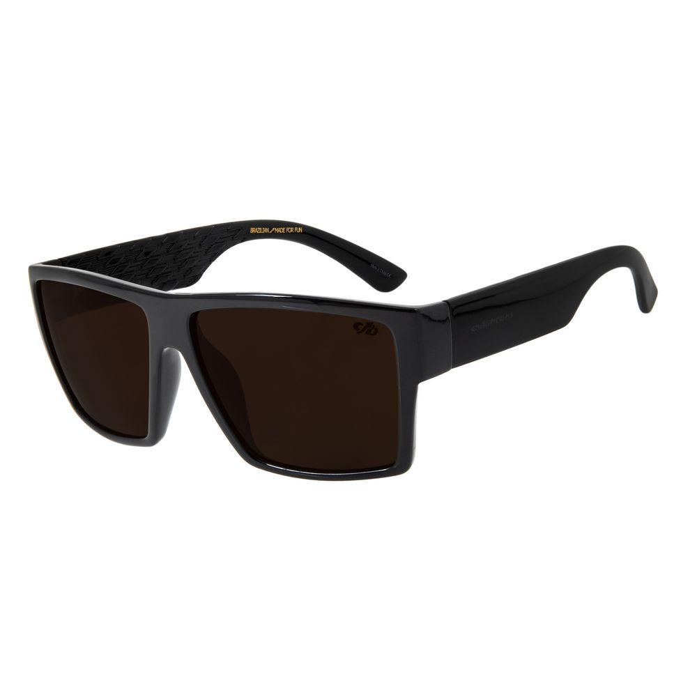 Óculos De Sol Masculino Chilli Beans Quadrado Marrom OC.CL.2843-0201