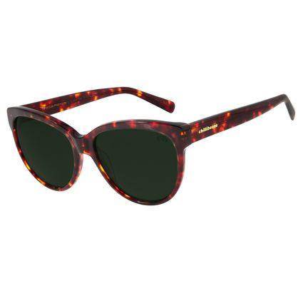 Óculos De Sol Feminino Chilli Beans Redondo Polarizado Tartaruga OC.CL.2844-1506