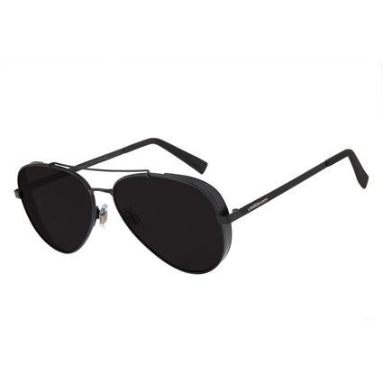 Óculos de Sol Unissex Chilli Beans Aviador Metal Escuro OC.MT.2429-0138