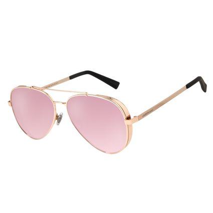 Óculos de Sol Unissex Chilli Beans Aviador Metal Rosê OC.MT.2429-5795