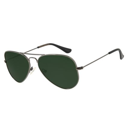Óculos De Sol Chilli Beans Unissex Polarizado Aviador ÔnixOC.MT.2512-2622