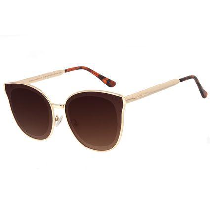 Óculos de Sol Feminino Chilli Beans Quadrado Dourado OC.MT.2664-5721