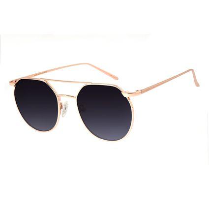Óculos de Sol Unissex Chilli Beans Redondo Metal Rosê OC.MT.2685-2095