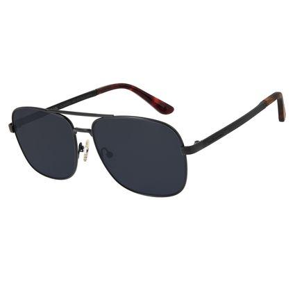 Óculos de Sol Masculino Chilli Beans Executivo Preto OC.MT.2702-0401