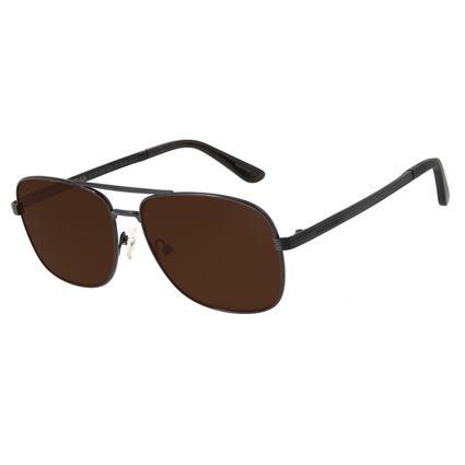 Óculos de Sol Masculino Chilli Beans Executivo Marrom OC.MT.2702-0201