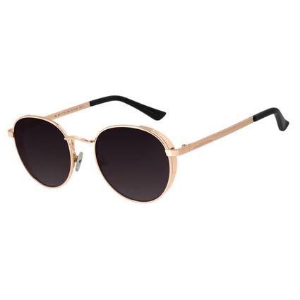 Óculos de Sol Unissex Chilli Beans Redondo Metal Rosê OC.MT.2716-2095