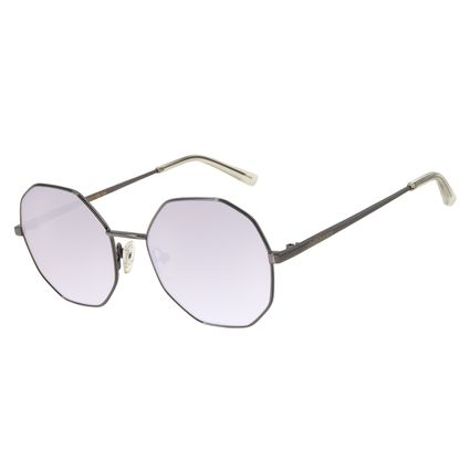 Óculos de Sol Feminino Chilli Beans Redondo Metal Espelhado OC.MT.2732-3222
