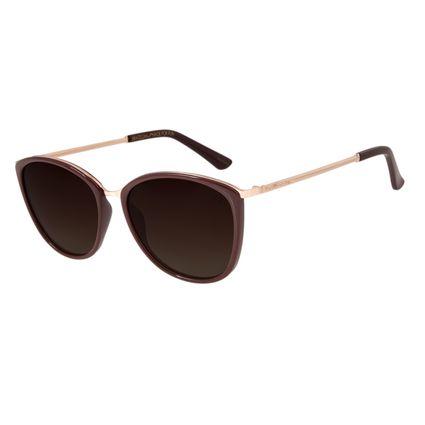 Óculos de Sol Feminino Chilli Beans Polarizado Vinho OC.CL.2223-5717