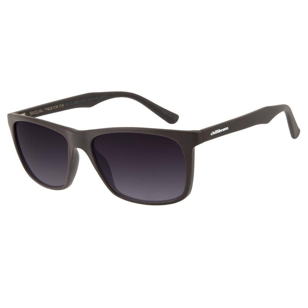 Óculos de Sol Masculino Chilli Beans Bossa Nova Degradê OC.CL.2589-2001