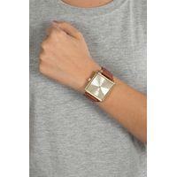 Relógio Analógico Feminino Chilli Beans Quadrado Dourado RE.CR.0417-2121.4
