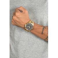Relógio Analógico Masculino Chilli Beans Hammered Dourado  RE.MT.0931-2121.4
