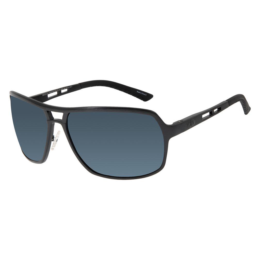 Óculos de Sol Masculino Chilli Beans Executivo Polarizado Preto OC.AL.0045-0001