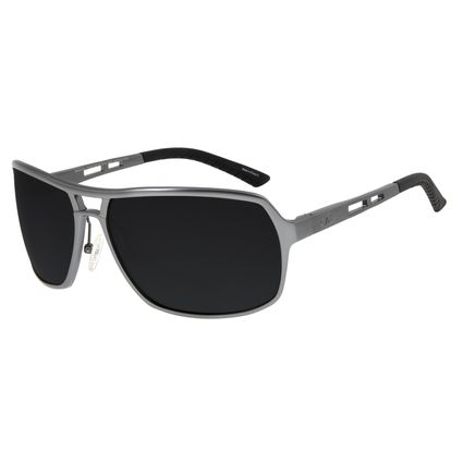 Óculos De Sol Masculino Chilli Beans Executivo Polarizado Grafite OC.AL.0045-0124