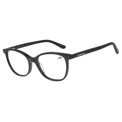 Armação Para Óculos De Grau Feminino Chilli Beans Quadrado Preto LV.AC.0525-0101