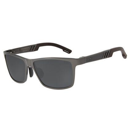 Óculos De Sol Masculino Chilli Beans Quadrado Ônix Polarizado OC.AL.0230-0122