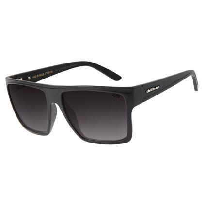 Óculos De Sol Unissex Chilli Beans Quadrado Ônix OC.CL.1058-2022
