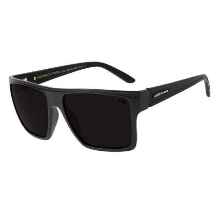 Óculos De Sol Unissex Chilli Beans Quadrado Escuro OC.CL.1058-2238