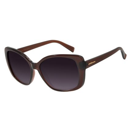 Óculos De Sol Feminino Chilli Beans Maxi Quadrado Preto OC.CL.2846-2001