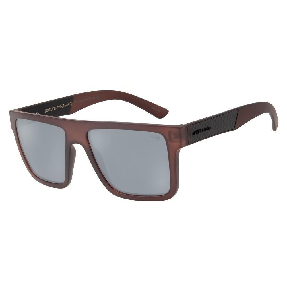 Óculos de Sol Masculino Chilli Beans Marrom Polarizado OC.CL.2825-0002