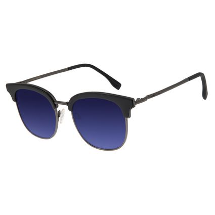 Óculos de Sol Feminino Chilli Beans Quadrado Preto .CL.2857-2001