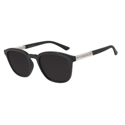 Óculos de Sol Unissex Chilli Beans Quadrado Preto OC.CL.2864-0101