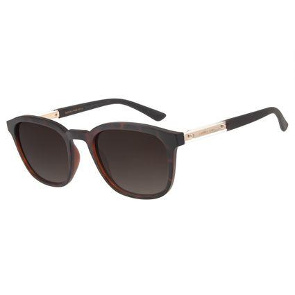 Óculos de Sol Unissex Chilli Beans Quadrado Tartaruga OC.CL.2864-5706