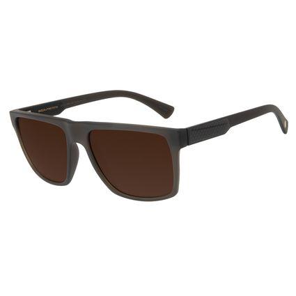 Óculos de Sol Chilli Masculino Beans Bossa Nova Marrom Escuro Polarizado OC.CL.2865-0247
