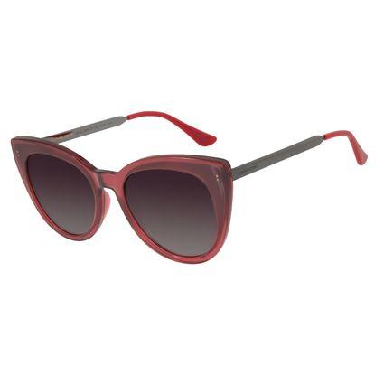 Óculos de Sol Feminino Chilli Beans Gatinho Vinho Polarizado OC.CL.2868-2017