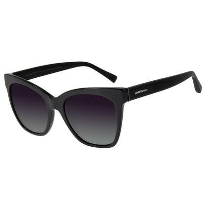 Óculos de Sol Feminino Chilli Beans Gatinho Preto  OC.CL.2914-2001