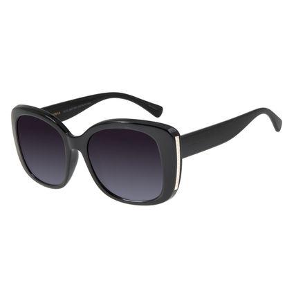 Óculos de Sol Feminino Chilli Beans Quadrado Preto OC.CL.2937-2001