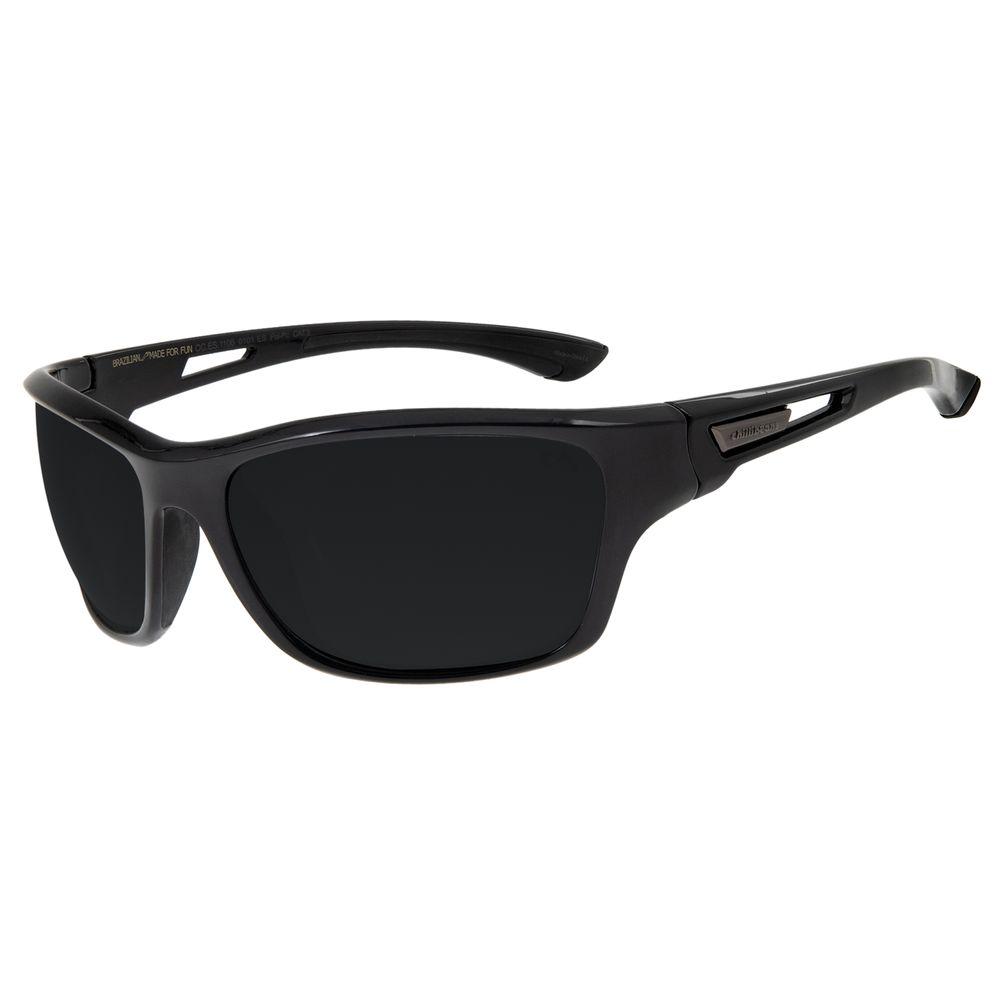 Óculos De Sol Masculino Chilli Beans Esportivo Preto Polarizado OC.ES.1106.0101