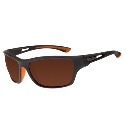 Óculos De Sol Masculino Chilli Beans Esportivo Marrom Polarizado OC.ES.1106-0247