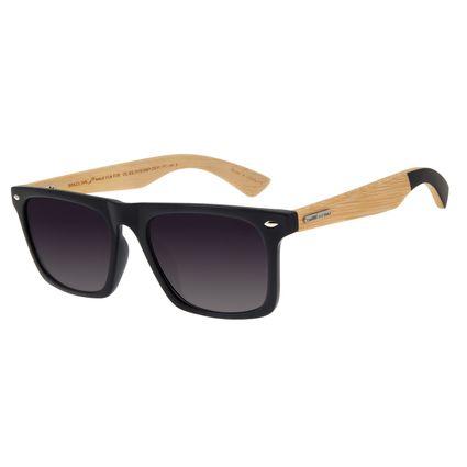 Óculos De Sol Masculino Chilli Beans Esportivo Preto Bamboo OC.ES.1173-2001