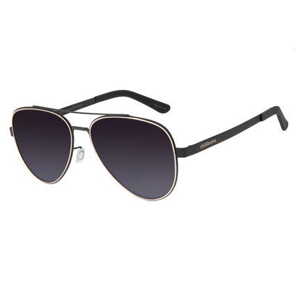 Óculos de Sol Feminino Chilli Beans Aviador Metal Degradê OC.MT.2701-2001