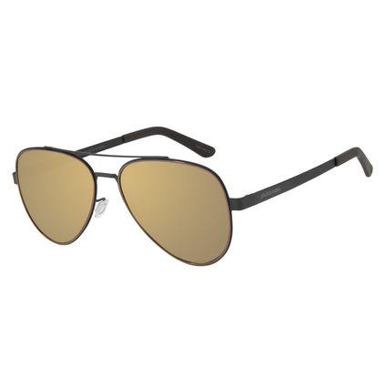 Óculos de Sol Feminino Chilli Beans Aviador Metal Preto OC.MT.2701-0401