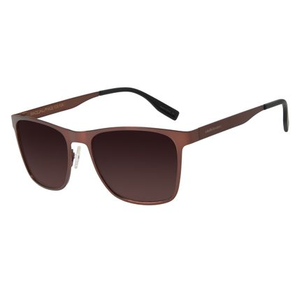 Óculos de Sol Masculino Chilli Beans Esporte Marrom Escuro Polarizado OC.MT.2704-5747