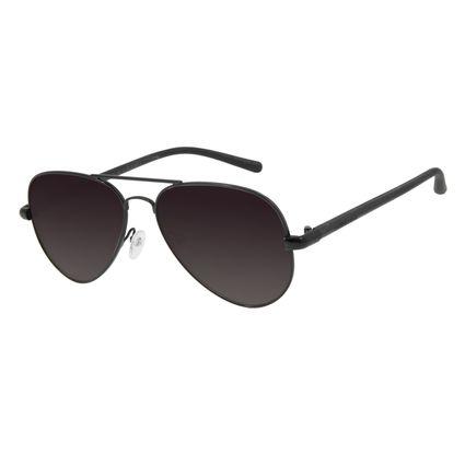 Óculos de Sol Unissex Chilli Beans Aviador Preto Polarizada OC.MT.2709-2001