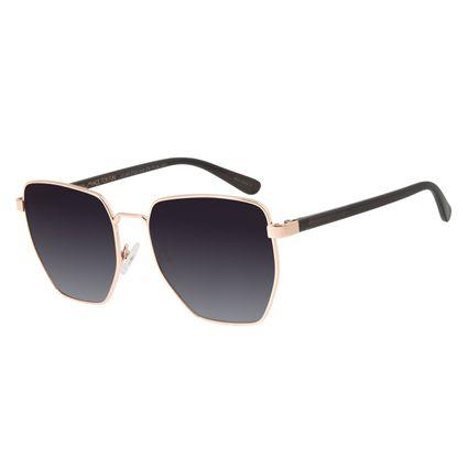 Óculos de Sol Feminino Chilli Beans Metal Quadrado Rosê OC.MT.2725-2095