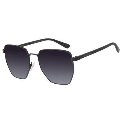 Óculos de Sol Feminino Chilli Beans Metal Quadrado Preto OC.MT.2725-2001