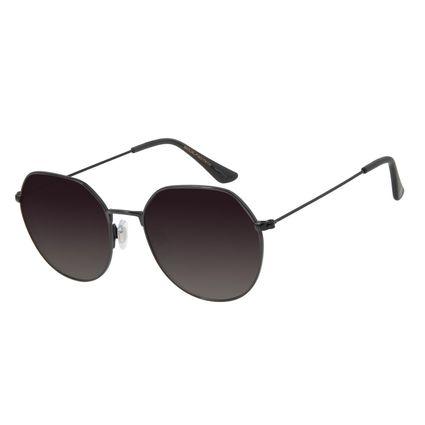 Óculos de Sol Feminino Chilli Beans Redondo Preto Polarizada OC.MT.2729-2001