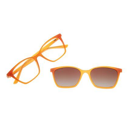 Armação Para Óculos Grau Feminino Chilli Beans Multi Marrom Cat Polarizado LV.MU.0106-2002